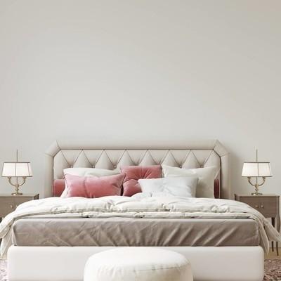 室内墙画廊与家具和装饰的样机