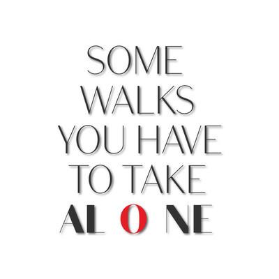 关于孤独的鼓舞人心的报价图
