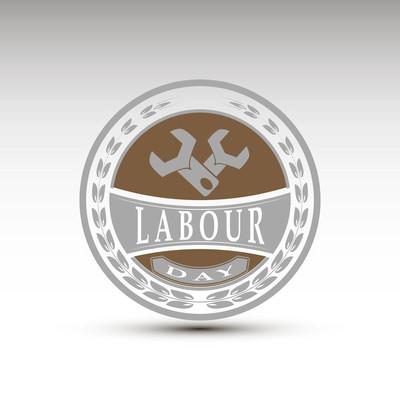 五一劳动节矢量的象征