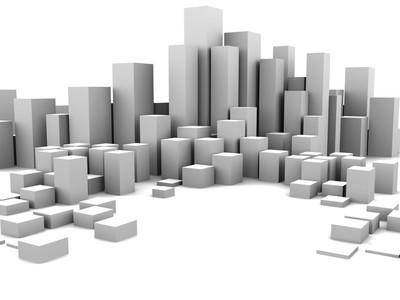 抽象的城市