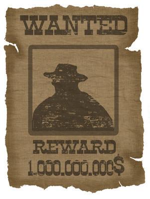 老通缉的海报
