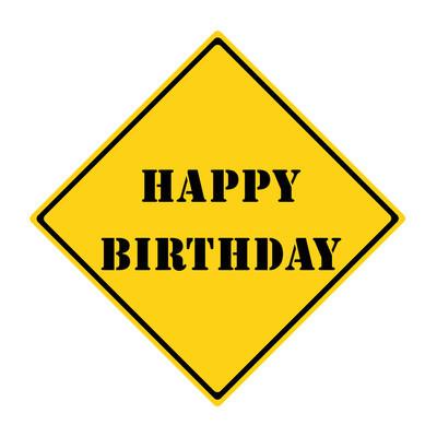 祝你生日快乐标志