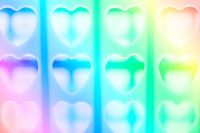 心脏的形状孔