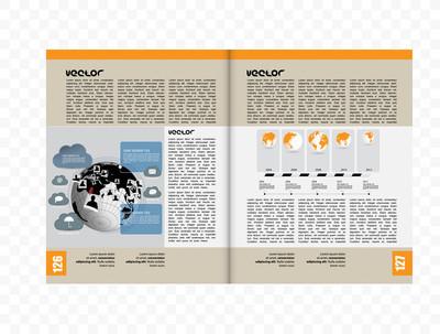 杂志的排版图