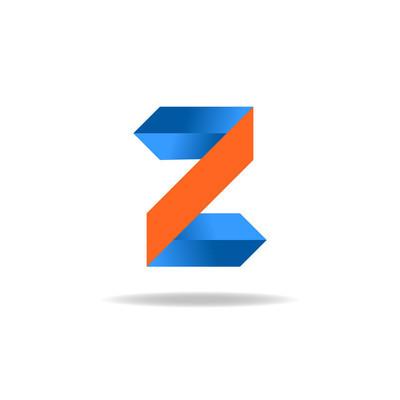 字母 Z 网站 logo,设计元素