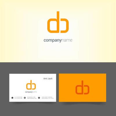 公司 logo 与名片模板