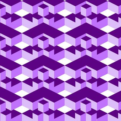 欧普艺术设计中的几何纹理