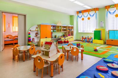 幼儿园,游戏室