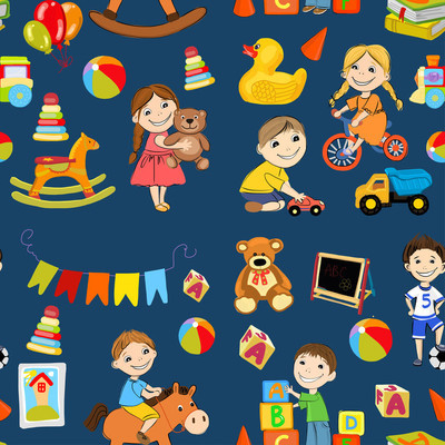 矢量幼儿园图像