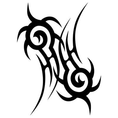 纹身部落矢量图案