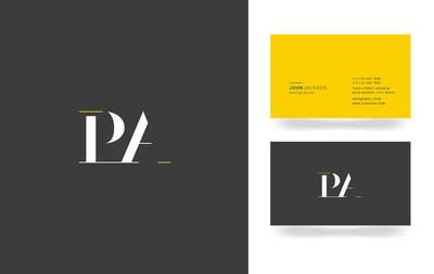 P & 字母徽标