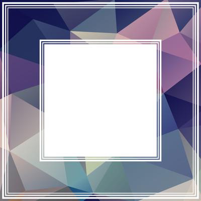 抽象的紫罗兰色边框