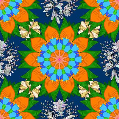 抽象的彩色的图片