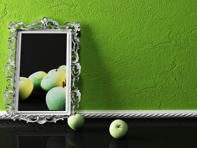 创意图片和苹果