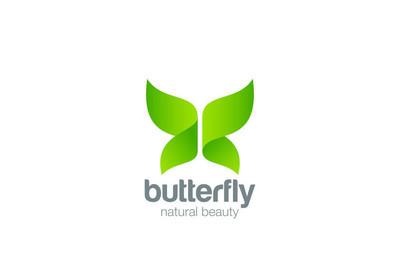 蝴蝶 Logo 设计摘要