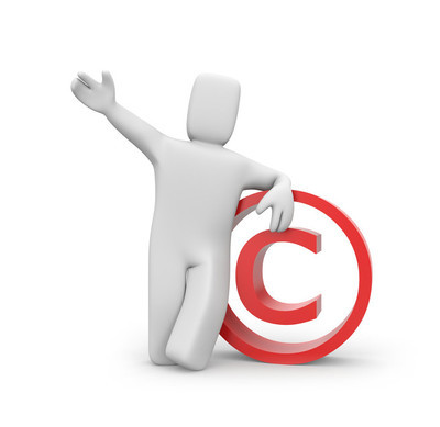 人和版权符号