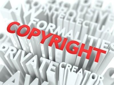 版权背景概念设计
