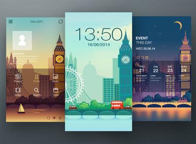 手机界面设计壁纸