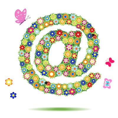 邮件标志-矢量图