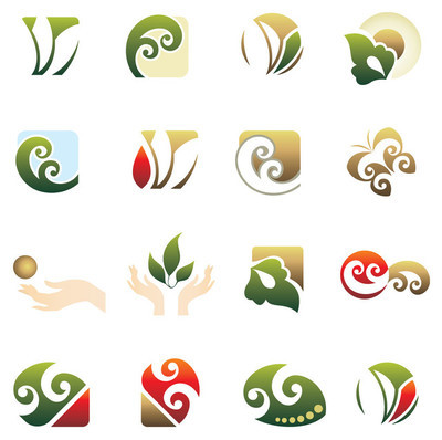 组的 logo 的设计元素