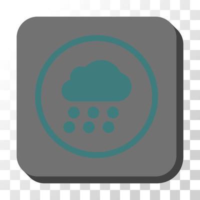 雨云圆形方形矢量按钮