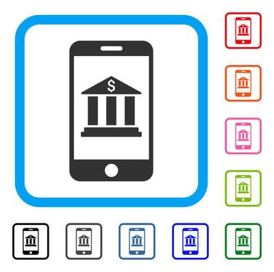 手机银行框架图标