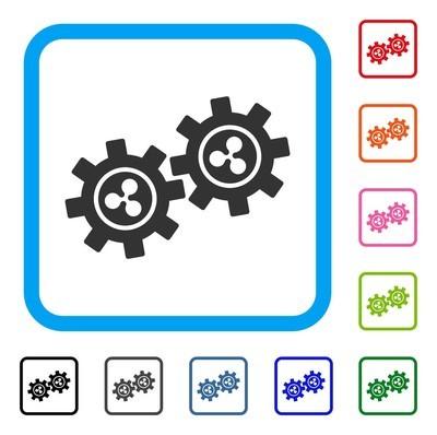 波纹发展齿轮框架图标