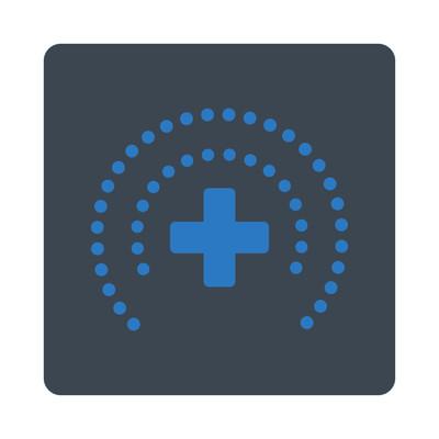 保健保护平面按钮