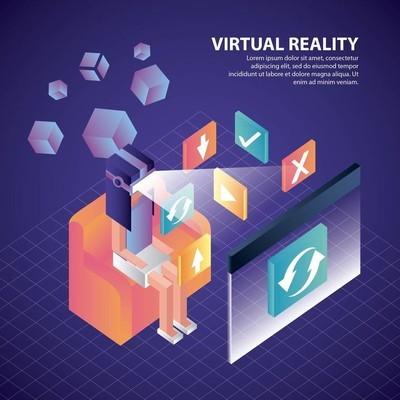 虚拟现实等距