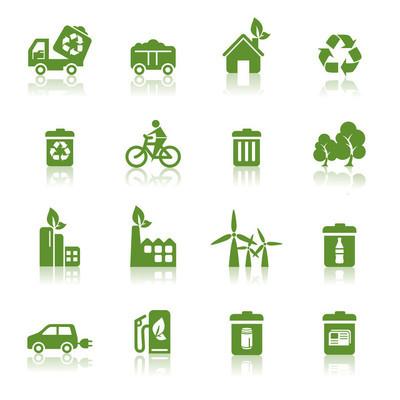 环境保护图标
