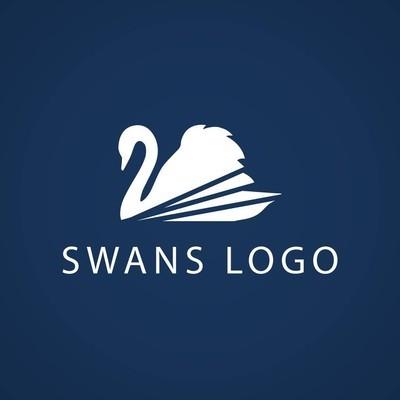 圆圈天鹅 logo 标志