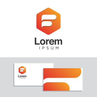 Logo 设计元素与名片模板