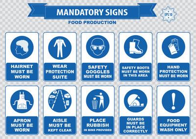 食品生产安全图标