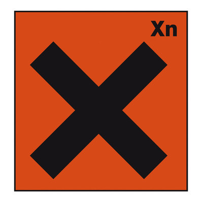 安全标志危险标志危险化学化学交叉