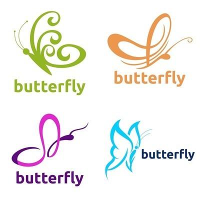 蝴蝶图案模板集