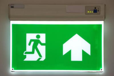 消防出口标志