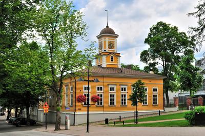 拉彭兰塔、 芬兰。旧市政厅