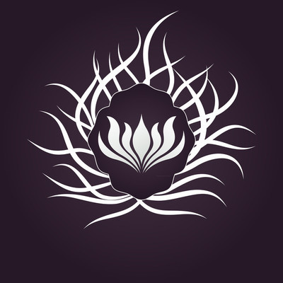 莲花花 logo 矢量