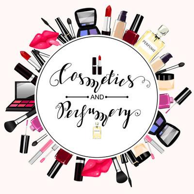 化妆品、 香水、 化妆品无缝模式