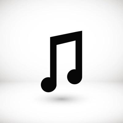 音乐矢量图标