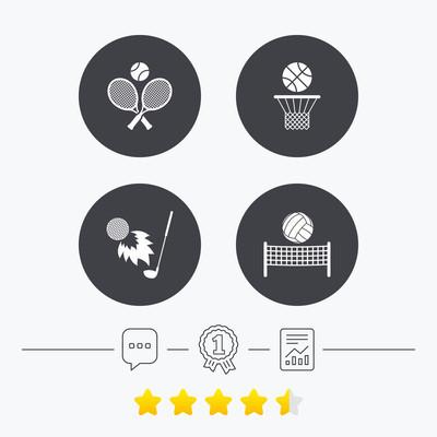 网球球拍与球