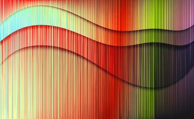 彩色线条背景