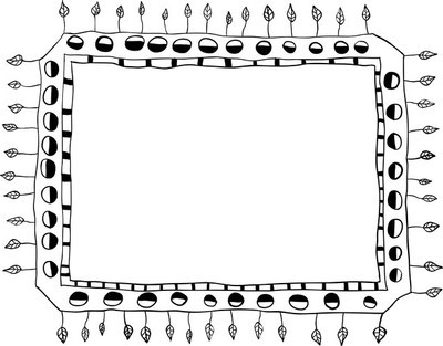 手绘涂鸦框架