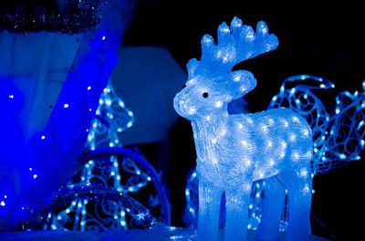 圣诞节浅色背景