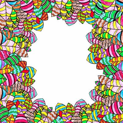 抽象图案装饰色彩设计