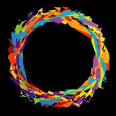 色彩丰富的网页设计元素