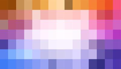 像素化抽象色彩背景。矢量股票