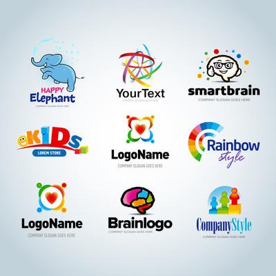 Colorful Logo set