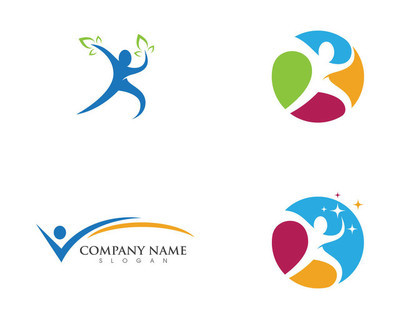 人的性格 logo 标志