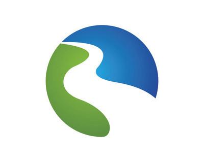 水波浪 Logo 模板矢量